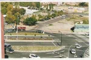 rotonda acceso al distrito